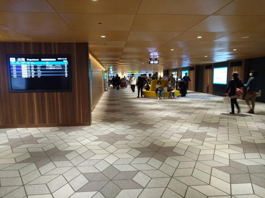 伊丹空港 リニューアル後の玄関