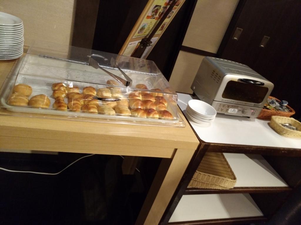 新千歳空港温泉の朝食1
