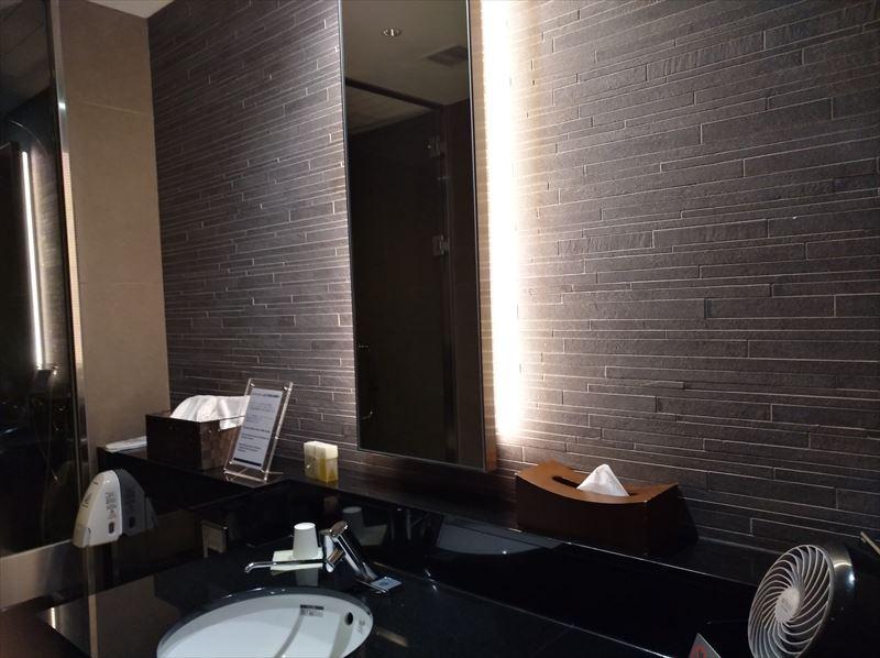 シャワー室 中 国際線 ANA