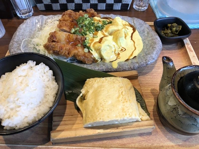 鳥玉、チキン南蛮定食