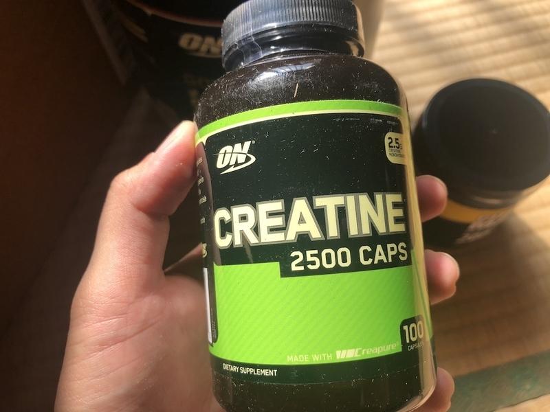 Optimum Nutrition, クレアチン 2500 Caps、 100カプセル