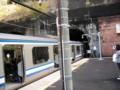 田浦駅でのドアカット