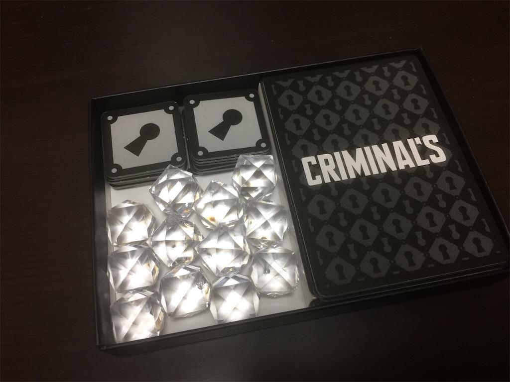 CRIMINAL'S 内容物