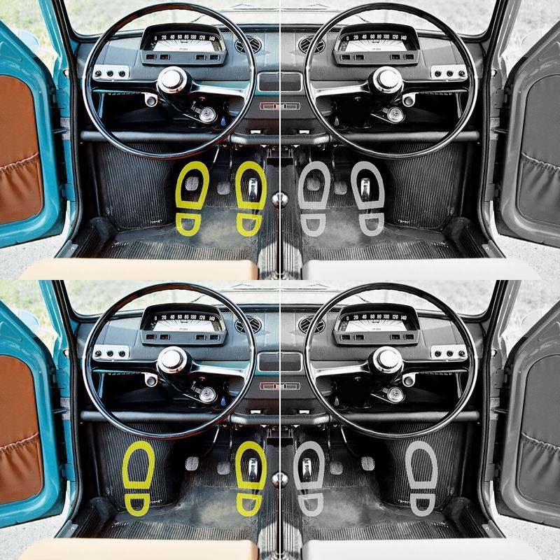 歪なペダル配置を強いる程に車体の効率を求む了見を愚と見做す現在。