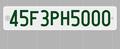 3in×1.5in/都道府県コード+2.6in×1.5in/アルファベット