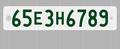 郵便区番号(上2桁)+アルファベット