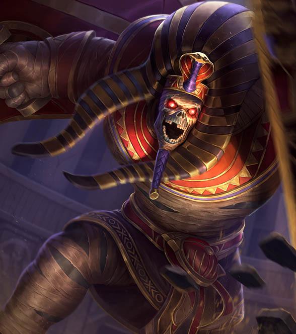 スマイト日本カブラカン Pharaoh's Curse Cabrakan