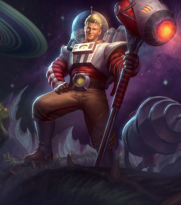 SMITEバルカン (Space Cadet Vulcan)