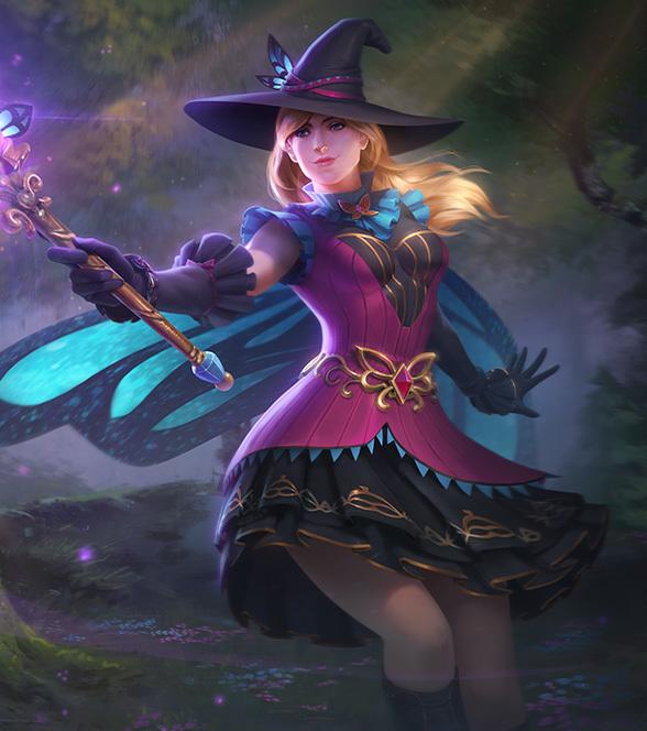 SMITEフレイヤ (Witching Hour Freya)