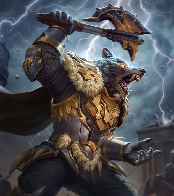 SMITEトール (Thunderfang Thor)