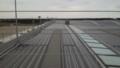 仙台空港にできた展望デッキ(有料)からみた風景
