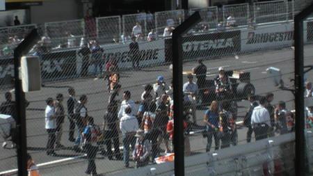 セナが乗っていたロータスを佐藤琢磨とセナ甥ブルーノがデモラン。今