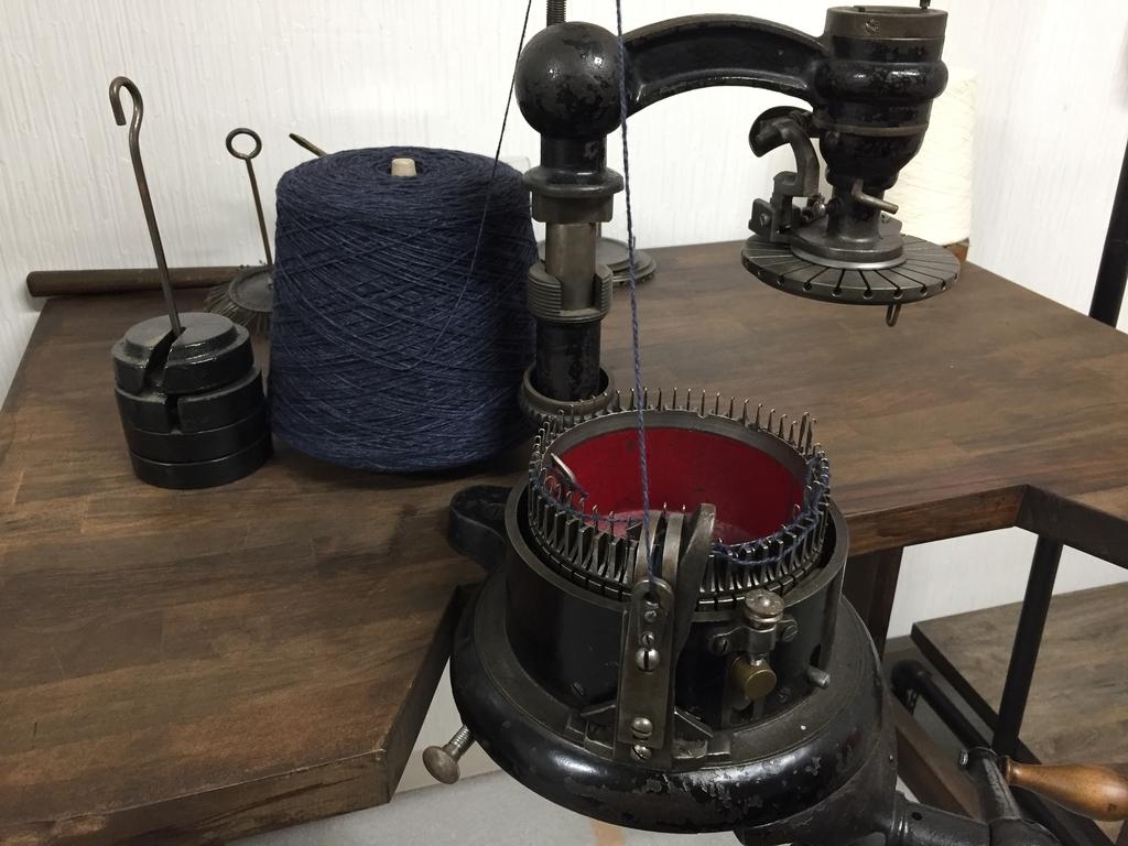 手回し編み機