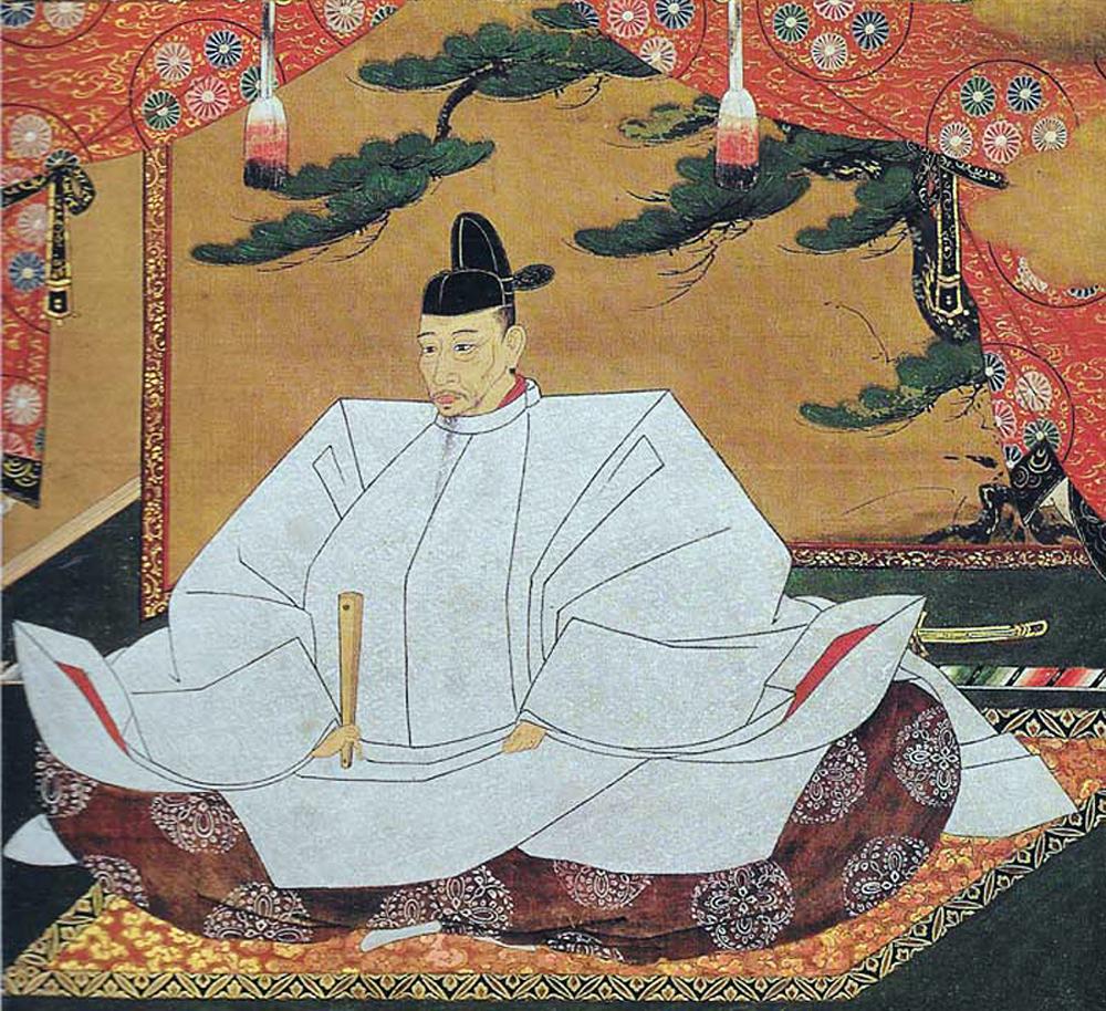 豊臣秀吉肖像、一部(高台寺所蔵)