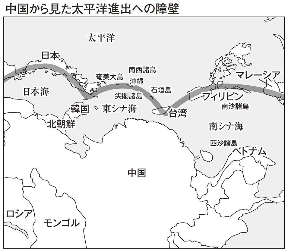 中国から見た海洋