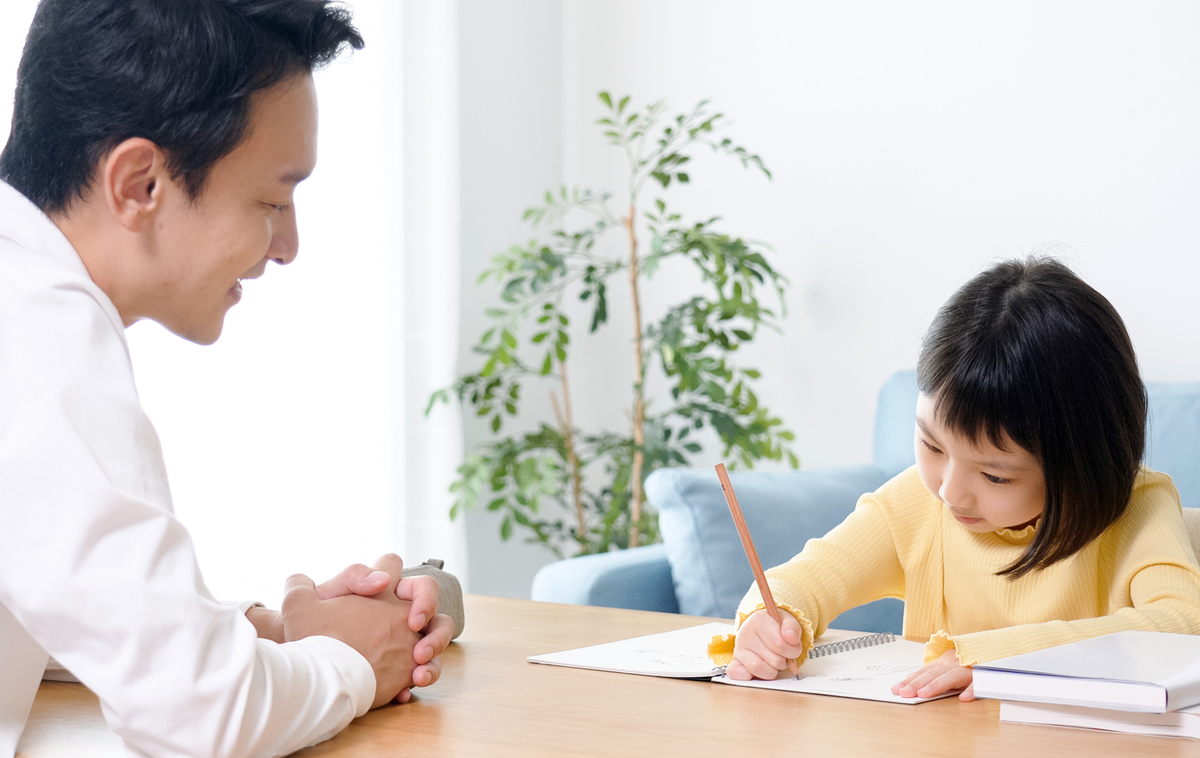 家庭教師と子ども