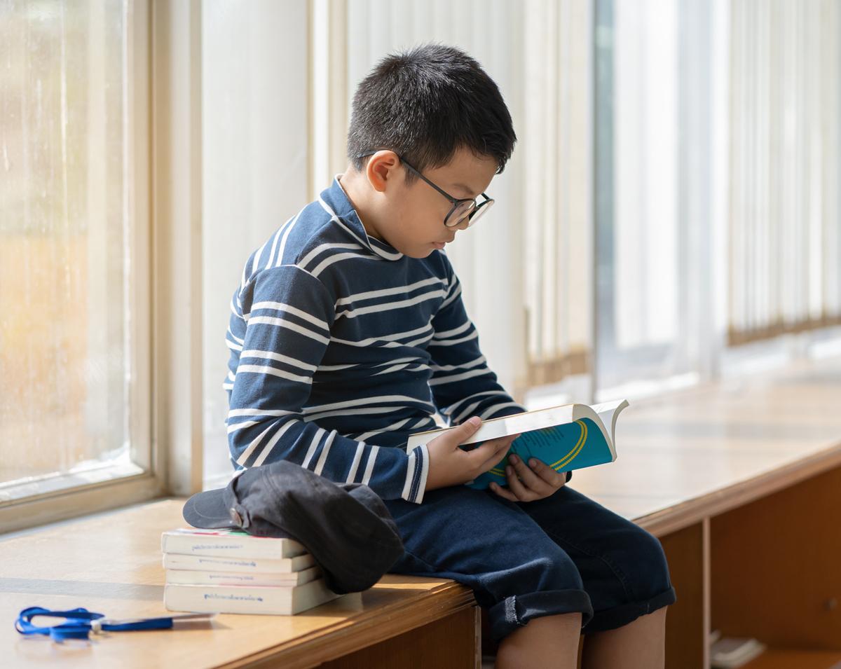 読書をする子ども