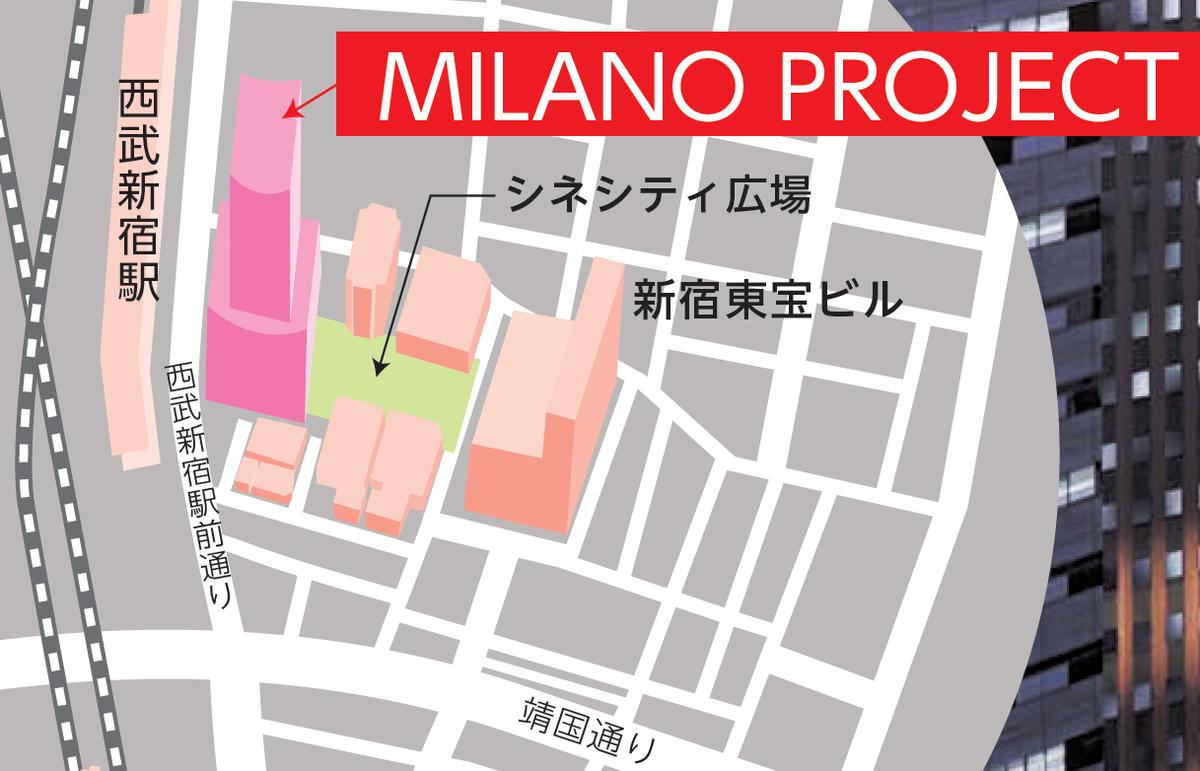歌舞伎町の地図