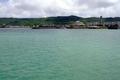 桟橋から見える風景