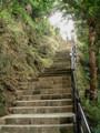 浦添ようどれの階段