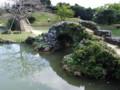 識名園の石橋