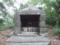 祠の中の鳥居(イーチキの御嶽)