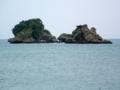 平安座島にて
