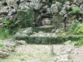 知念城跡にて