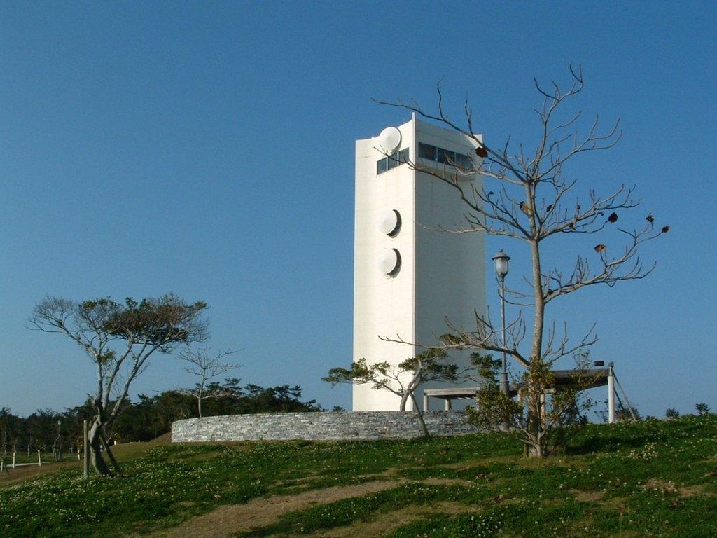 倉敷ダムの展望タワー