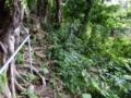 ヌルのお墓・按司のお墓への階段