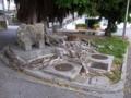 金武城門の石