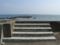 屋宜の海岸にて