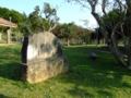 記念植樹の碑