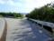 山城の海岸への道