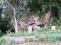 小城のニーセー石の周辺の拝所