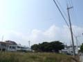 中城村字久場にて