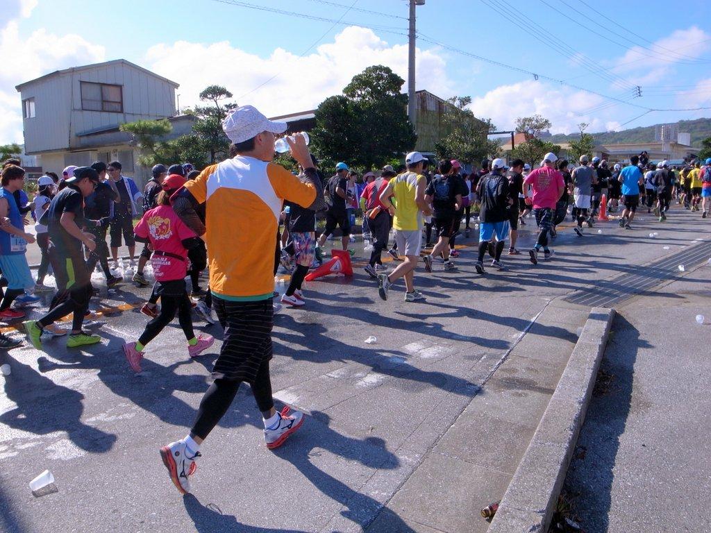 尚巴志ハーフマラソン in 南城市 2014  尚巴志ハーフマラソン 個別「尚巴志ハーフマラソン