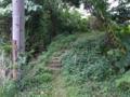 アイハンタ御嶽へと続く階段