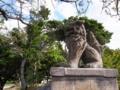 世持神社の狛犬