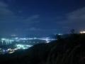 玉城那覇自転車道から望む須久名森