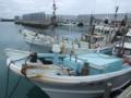 当添漁港にて
