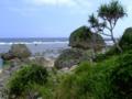 摩文仁の海岸