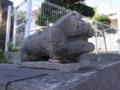 當山区石獅子7