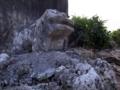 屋嘉部区石獅子12