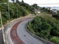 中山トンネル旧道