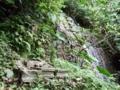 澤川水源の滝の近くの拝所@南城市佐敷字新里