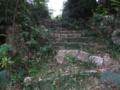 与那覇山の石段