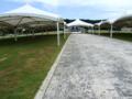 平和記念公園の式典広場@糸満市字摩文仁