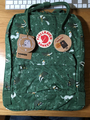 Fjallraven Kanken Art (Green Fable)