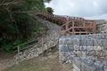 2020.11.14 一の曲輪への階段@勝連城跡